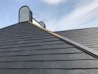 吹き飛んだカラーベスト屋根の棟板金