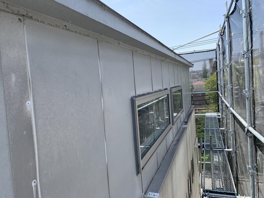3階板金外壁現状の状態