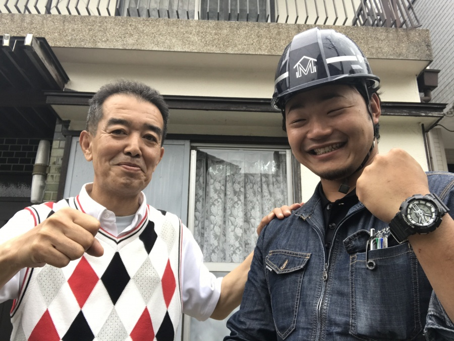 神戸市北区 屋根葺き替え工事を行ったK様から暖かい声を頂きました。