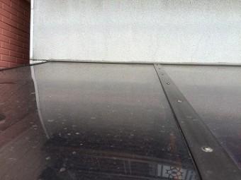 既存のテラスの屋根のポリカ版