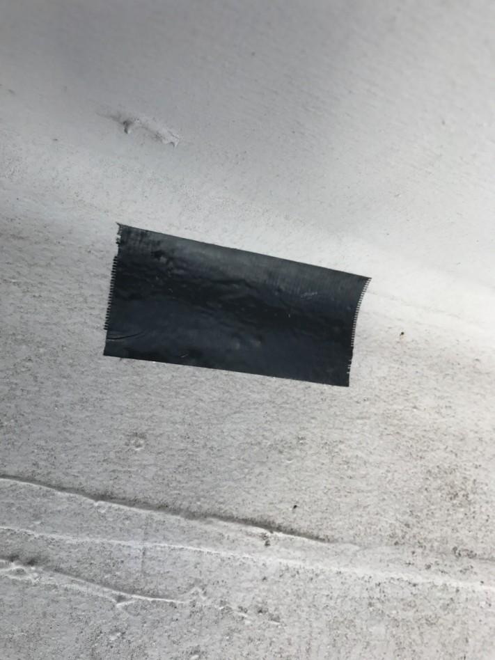 神戸市兵庫区 防水調査 養生テープ