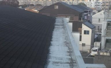 マンション屋上防水工事ビフォー写真