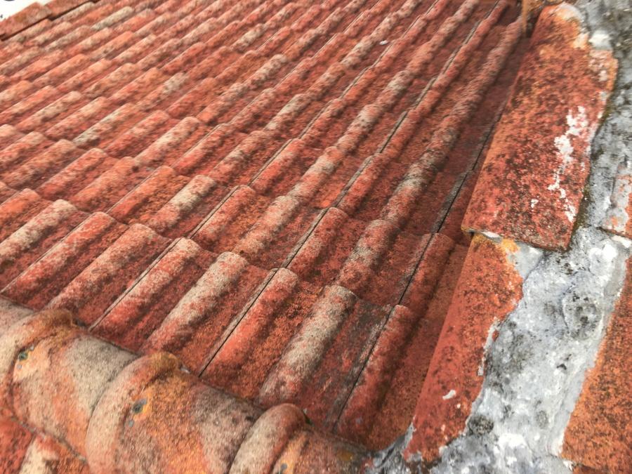 屋根葺き替え調査