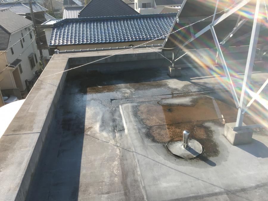 屋上の様子