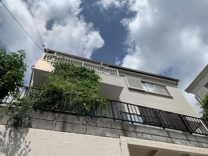 神戸市北区 雨樋の外れ現場状況