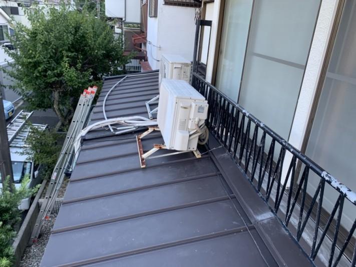神戸市須磨区 葺き替え工事立平葺き完成