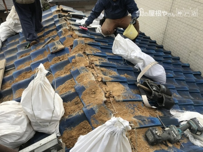 神戸市兵庫区 棟修理 積み替え防災棟