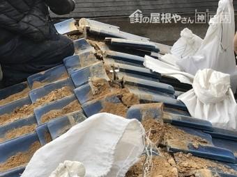 神戸市兵庫区 棟修理 金具施工