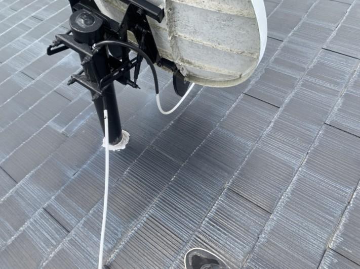 雨漏り アンテナとの取り合い箇所