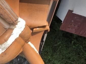雨漏り葺き替えでの漆喰