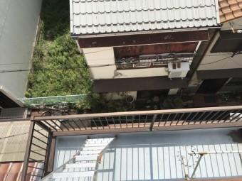 神戸市兵庫区 防水調査 ベランダ