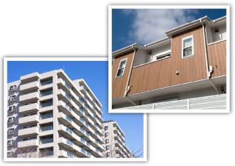 メンテナンスの行き届いた快適なマンションやアパート