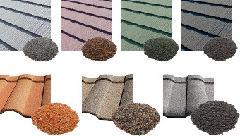 ジンカリウム鋼板のカラーバリエーション